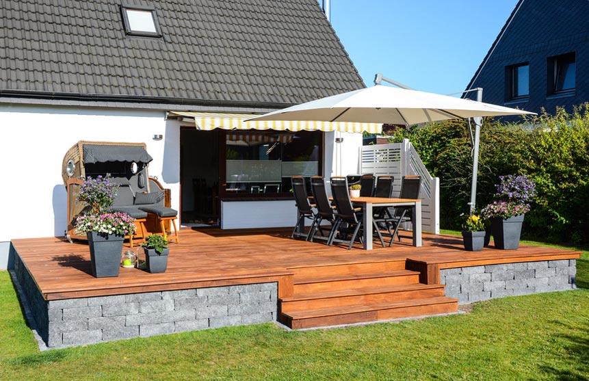 tischlerei wahrendorf terrassengestaltung bangkirai. Black Bedroom Furniture Sets. Home Design Ideas